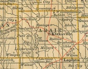 Adair-County-Missouri-map