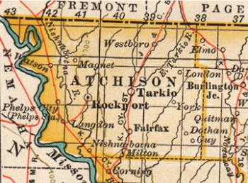 Atchison-County-Missouri-map